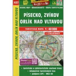 SHOCart 437 Písecko, Zvíkov, Orlík nad Vltavou  1:40 000
