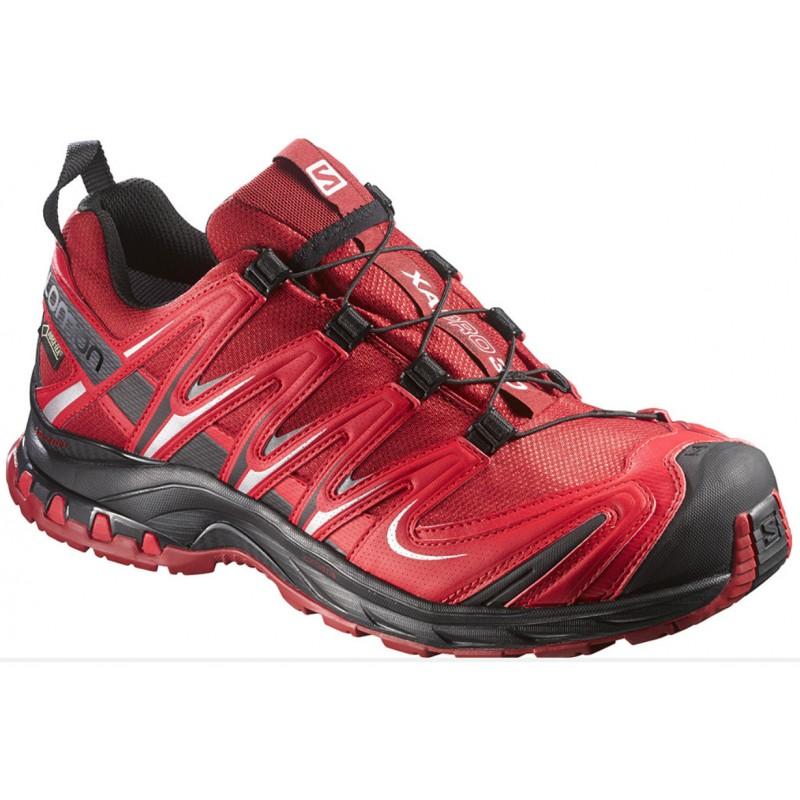 Salomon XA Pro 3D GTX flea bright red 375933 pánské nepromokavé běžecké boty 99617d84750