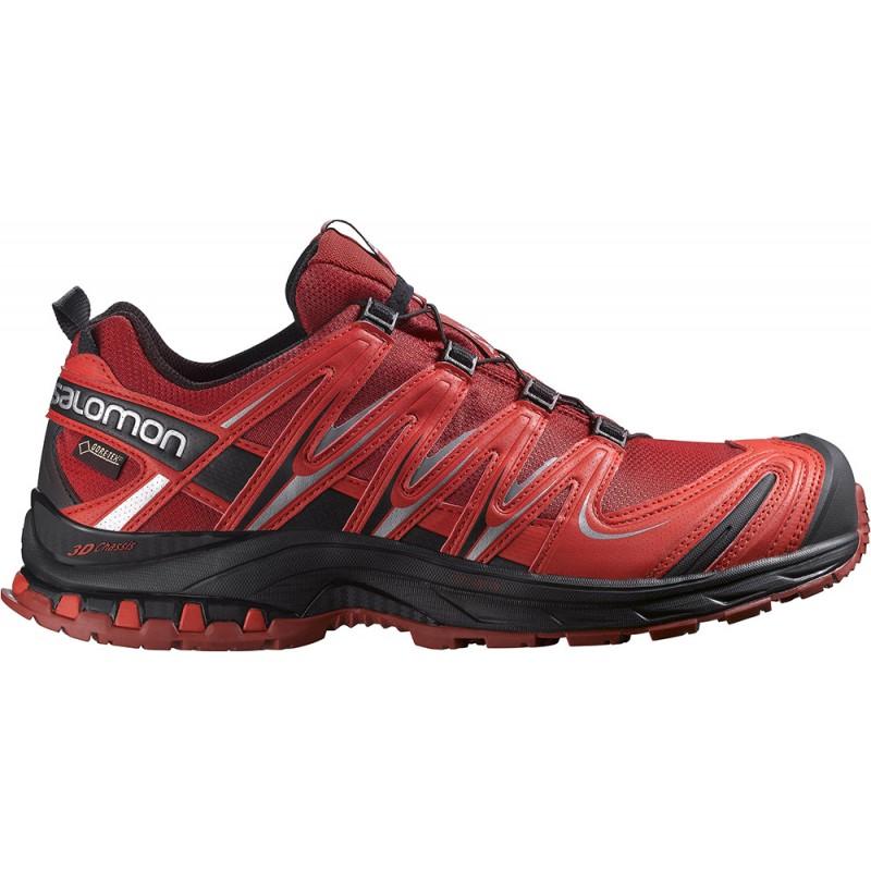 ... Salomon XA Pro 3D GTX flea bright red 375933 pánské nepromokavé běžecké  boty (5 ... bc19b661da9