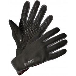 Direct Alpine Skisport 1.0 black/grey unisex větruodolné softshellové rukavice