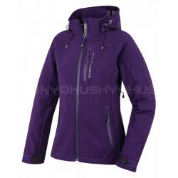 Husky Bonnie fialová dámská softshellová bunda Extend-Plus Softshell 10000