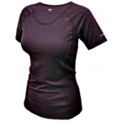 Jitex BoCo Kamada 801 TSS tmavě fialová dámské triko krátký rukáv Merino vlna