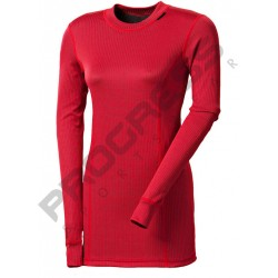 _Progress Micro Sense MS NDRZ bordó dámské triko dlouhý rukáv