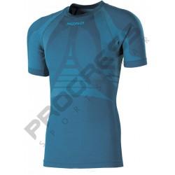 Progress Seamless SL NKR petrol/světle modrá pánské triko krátký rukáv