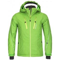 Husky Lona zelená dětská nepromokavá zimní lyžařská bunda Aquablock Plus