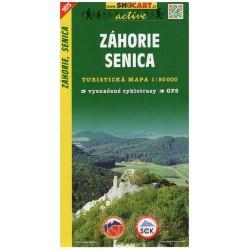 SHOCart 1073 Záhorie, Senica 1:50 000