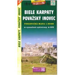 SHOCart 1074 Biele Karpaty, Považský Inovec 1:50 000 turistická mapa