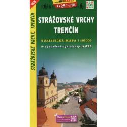 SHOCart 1075 Strážovské vrchy, Trenčín 1:50 000