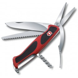 Victorinox RangerGrip 71 Gardener červená/černá 0.9713.C švýcarský kapesní multifunkč. nůž