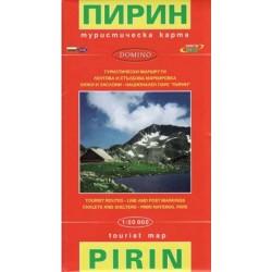 Domino Bulharsko-Pirin 1:50000