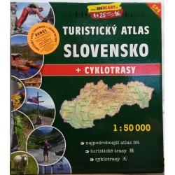 SHOCart Slovensko 1:50 000 turistický atlas