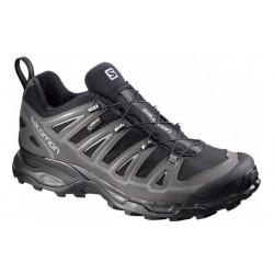Salomon X Ultra 2 GTX black/pewter 379823 pánské nízké nepromokavé boty (1)