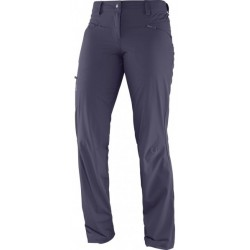 Salomon Wayfarer Pant W nightshade grey 370987 dámské lehké softshellové kalhoty