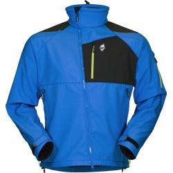 High Point Stratos Jacket blue aster pánská softshellová bunda BlocVent 3L