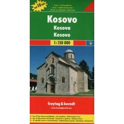 Freytag a Berndt Kosovo 1:150 000 automapa