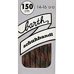 Barth Sport Extra Dick Rund Bunt kulaté extra silné/150 cm/barva 732 tkaničky do bot