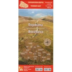 Aurius Boržava 1:50 000 turistická mapa