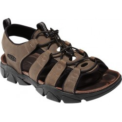 Keen Daytona M black olive pánské kožené outdoorové sandály