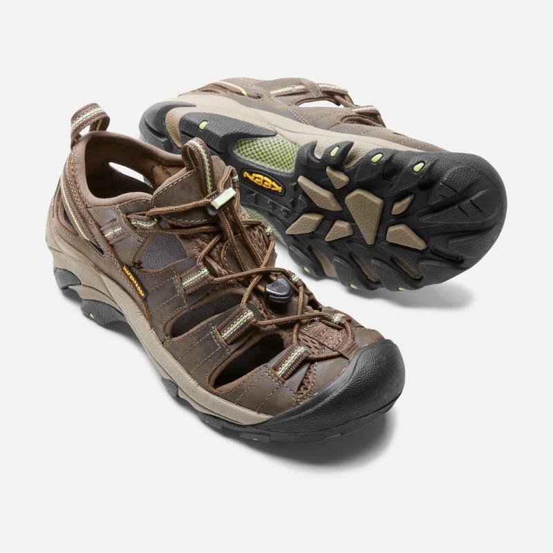 c0162197c4f3 ... Keen Arroyo II W chocolate chip dámské kožené outdoorové sandály (5) ...