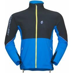 High Point Gale Jacket black/blue pánská softshellová bunda