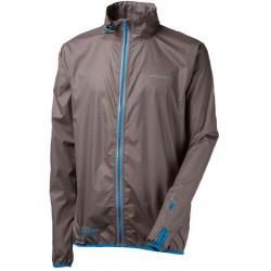 Progress Aero Running světle šedá/modrá unisex lehká bunda