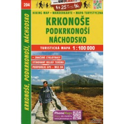 SHOCart 204 Krkonoše, Broumovsko 1:100 000