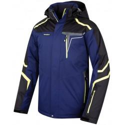Husky Gaven tmavě modrá pánská nepromokavá zimní lyžařská bunda Aquablock Plus