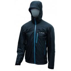 Pinguin Alaska jacket black/petrol pánská zimní nepromokavá bunda A.C.D. membrane 2L