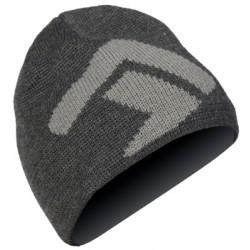 Direct Alpine Kameny anthracite/grey pánská pletená čepice Merino vlna