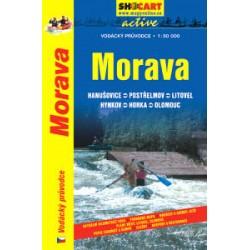 SHOCart Morava 1:50 000 vodácký průvodce