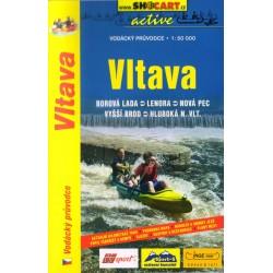 SHOCart Vltava 1:50 000 vodácký průvodce