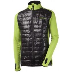 Progress Tux zelená/černá pánská větrudolná bunda částečně zateplená