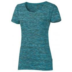 Progress Melissa tyrkysový melír dámské triko krátký rukáv