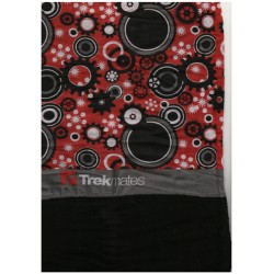 Trekmates Choob Polar Gears red/charcoal zateplený multifunkční šátek