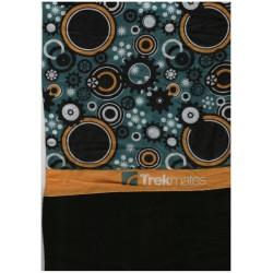 Trekmates Choob Polar Gears orange/teal zateplený multifunkční šátek
