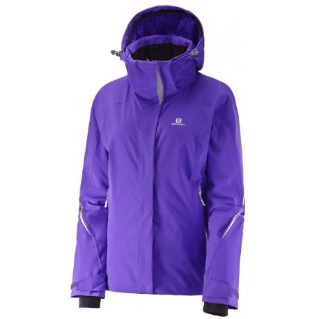 Salomon Brilliant Jacket W phlox violet 382639 dámská nepromokavá zimní  lyžařská bunda a77cb1ef9b