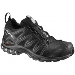 Salomon XA Pro 3D GTX W black/mineral grey 393329 dámské nepromokavé běžecké boty
