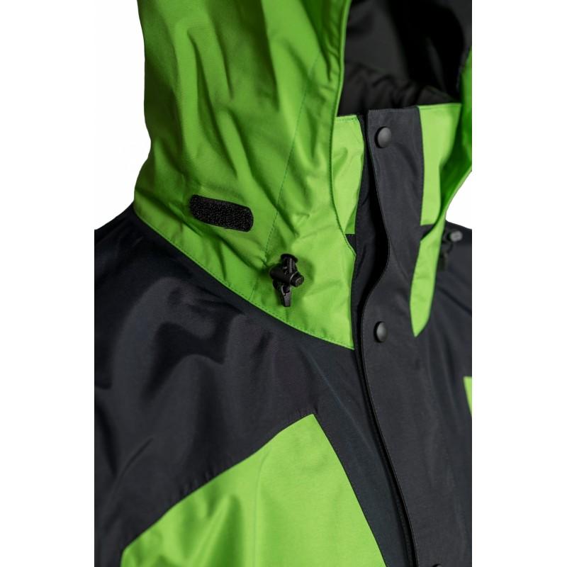 ... High Point Thunder green pánská nepromokavá bunda BlocVent 2L DWR  detail ... 2e9c73bf98b