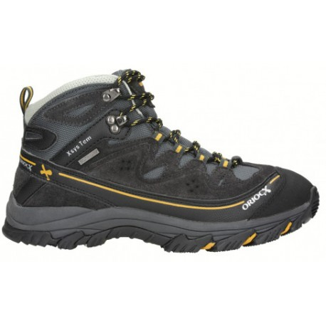 OriocX Najera OCX2Dry gris pánské trekové nepromokavé boty