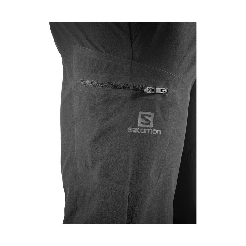 3df93143963b ... Salomon Wayfarer Pant M black 393125 pánské lehké turistické kalhoty 3  ...
