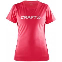 Craft PRIME Logo TEE Women Berry 1478 dámské triko krátký rukáv