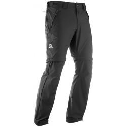 Salomon Wayfarer Zip Pant M black 393113 pánské odepínací turistické kalhoty