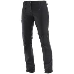 Salomon Wayfarer Zip Pant W black 392980 dámské odepínací turistické lehké kalhoty