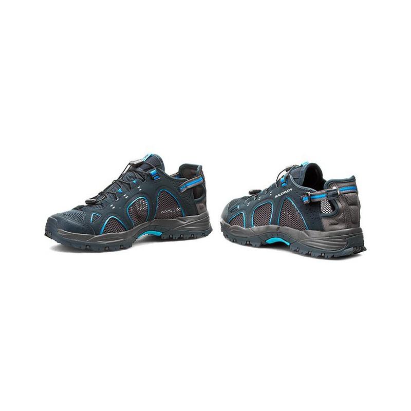 66b52941ad1 ... Salomon Techamphibian 3 deep blue autobahn 356783 pánské sandály i do  vody (1) ...