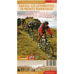 Schubert a Franzke MB02 Cycling Trails in the Banat Mountains 1:60 000 cykloprůvodce