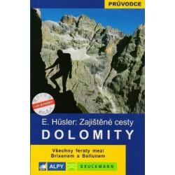 Alpy Zajištěné cesty - Dolomity