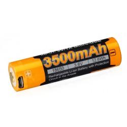 Fenix USB Li-Ion 18650 3500 mAh dobíjecí baterie