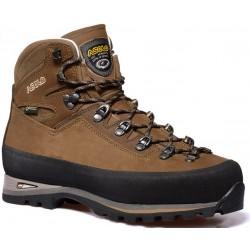 Asolo Kongur GV MW GTX brown pánské nepromokavé kožené trekové boty