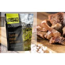 Krůtí maso na cibulce