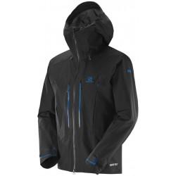 Salomon S-LAB X Alp Pro JKT M black 374850 pánská nepromokavá bunda Gore-Tex Pro 3L
